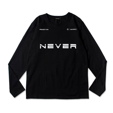 PROJECT R:33 NEVER Long Sleeve T Black