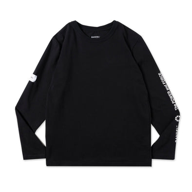 Sleeve Design  Long Sleeve T/Black