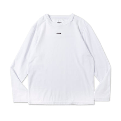 The POWER&FORCE Long Sleeve T/White