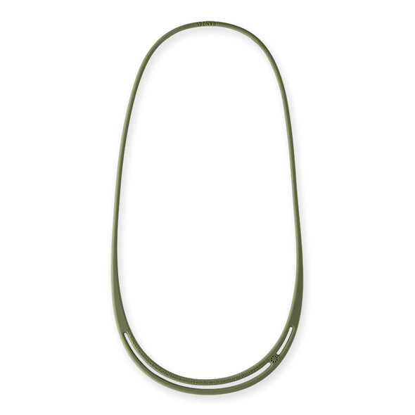 ASYM Necklace Oil Green