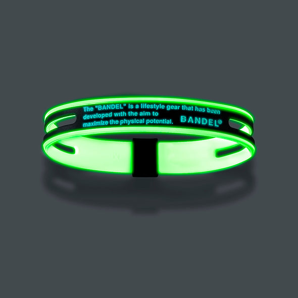 GHOST Luminous NEON Bracelet Neon Blue