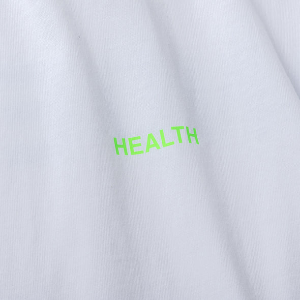 Long Sleeve T Color benefit 【HEALTH】white