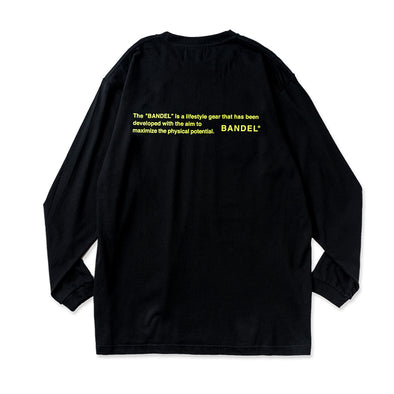 Long Sleeve T GHOST concept notes  Black×Neon Yellow