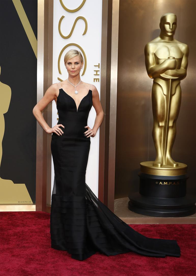 37. Charlize Theron