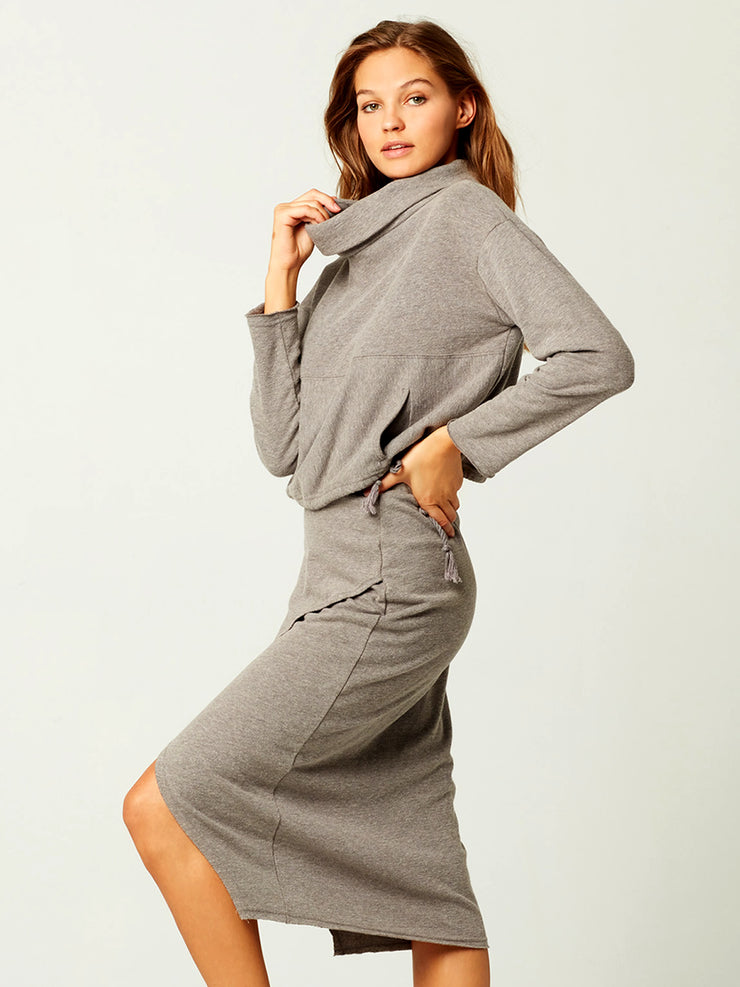 L Space: Claire Pullover-Kitty Skirt  Cover Up  CLATP20-HTG-KITSK20-HTG