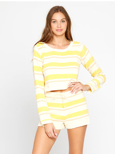 L Space: Sun Seeker Sweater-Sun Seeker Short (SUNSW20-SSH-SUNSH20-SSH)