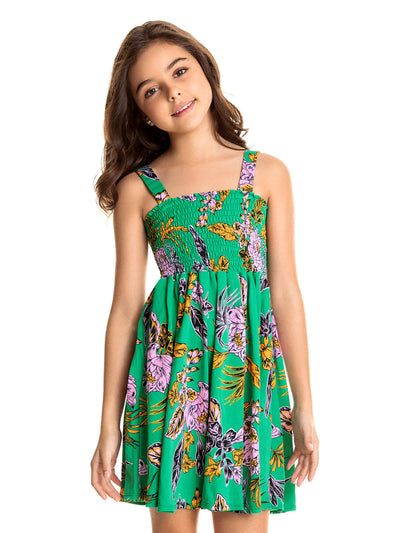 Maaji Kids: Green Donna Dress (1715KKC007)