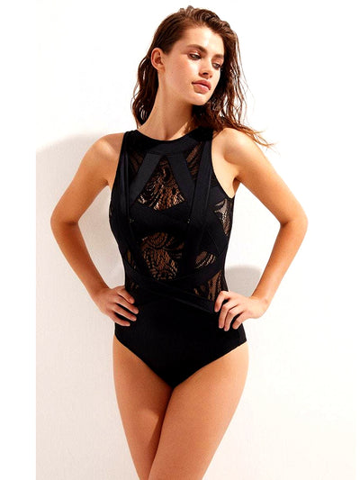 Esther with Lace One-Piece