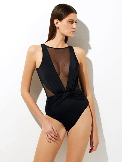 Elvira with Tulle One-Piece