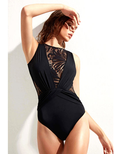 Elvira with Lace One-Piece
