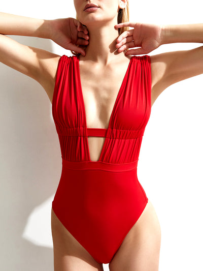 Oye Swimwear: Athena (ATHENA-RED)
