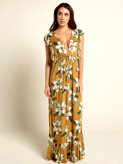 Emilia Evergreen Dress