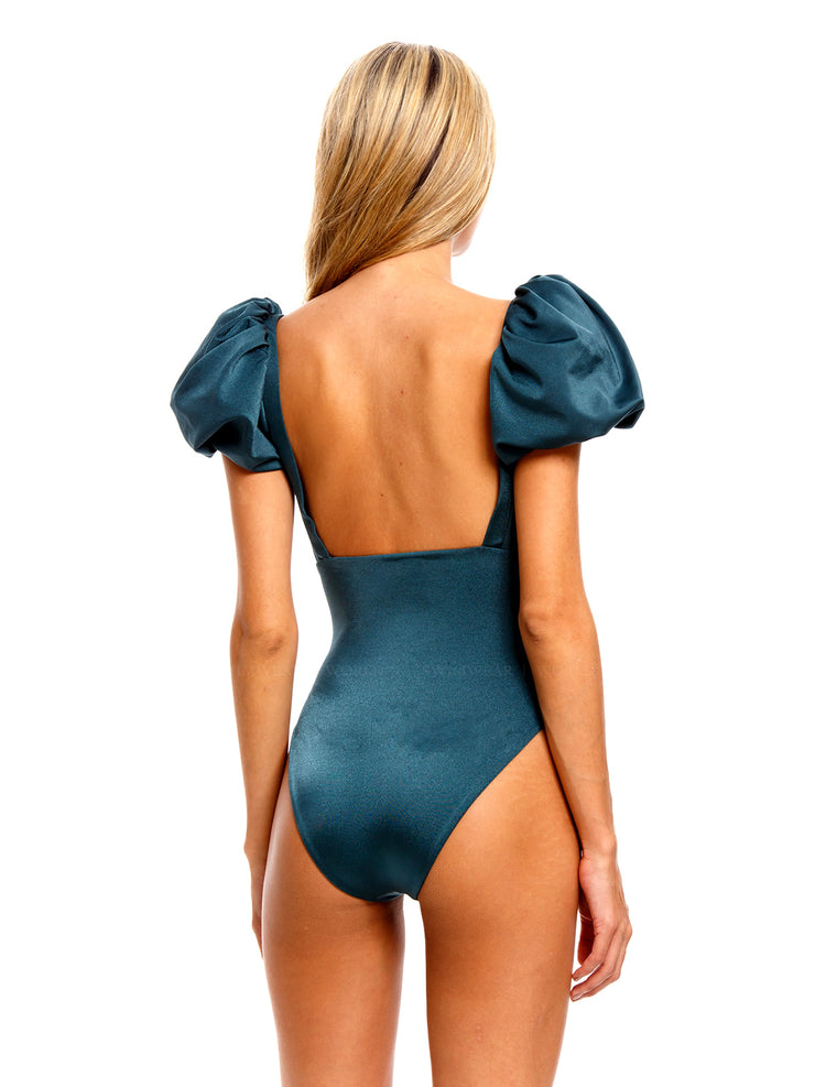 Agua Bendita: Palma One-Piece (7325-GREN)