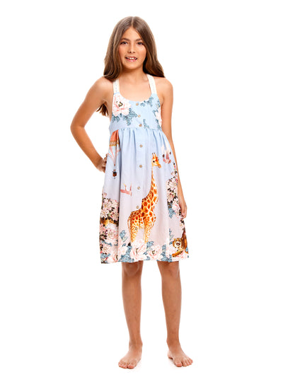 Agua Bendita Kids: Avril Dress (7150)