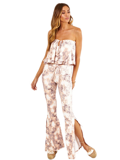 Soah: Willow Blouse-Bardot Pants  Cover Up  WILLOWB-BLTD-BARDOTP-BLTD