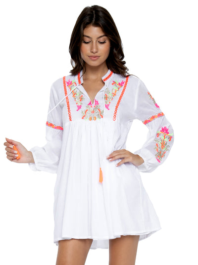 Capri Embroidered Tunic