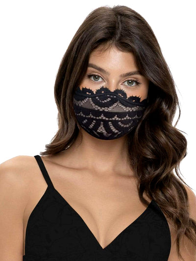 Midnight Lace Adult MasQini Face Mask