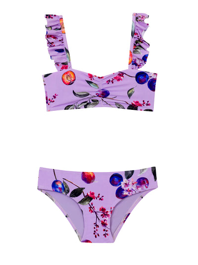 PQ Swim Kids: Sporty Rainbow Embroidered Bikini (PAS-873B)