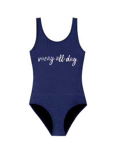 PQ Swim Kids: Vacation One-Piece (VAC-603P)