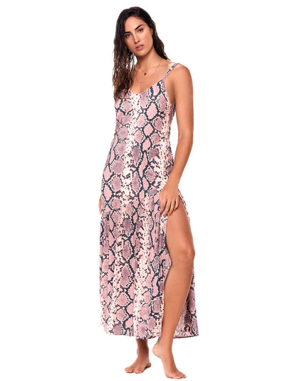 Piton Sea Camelus Maxi Dress