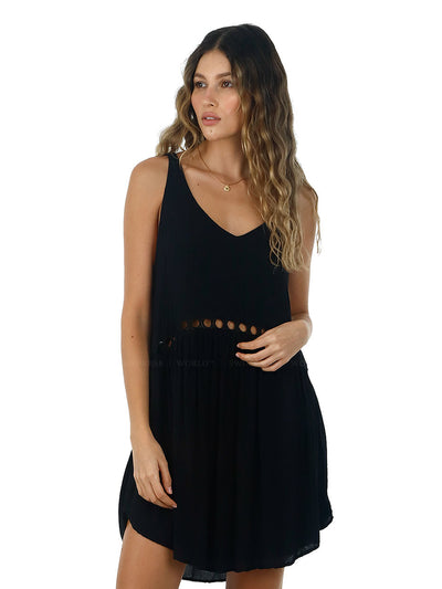 Malai: Black Lovey Dovey Dress (C47001)
