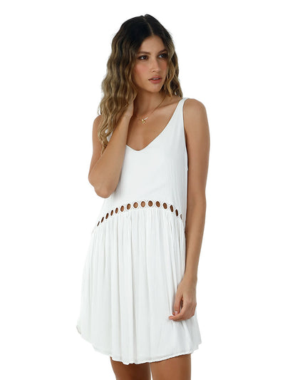 Malai: White Lovey Dovey Dress (C47002)
