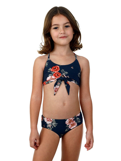 Malai Kids: Time To Bloom Linsey Set (K35063)