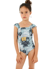 Malai Kids: Green Indian Soul Gales One-Piece (K17089)