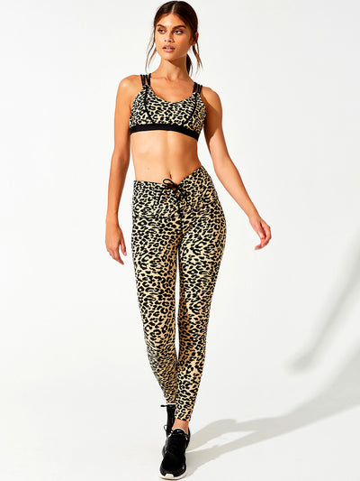 Beach Bunny: Preston Bralette-Melanie Legging  Cover Up  F20104T1-LEO2-F20104L1-LEO2