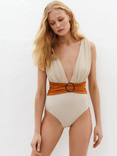 Lily and Rose: Paparazzi One-Piece (171POB-BRO)