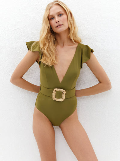 Lily and Rose: Helen One-Piece (112HOO-OLIV)