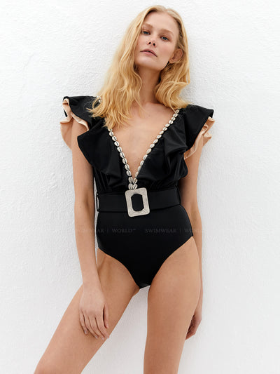 Lily and Rose: Harper One-Piece (112HOB-BLK)