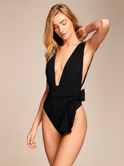 Low Cut One-Piece