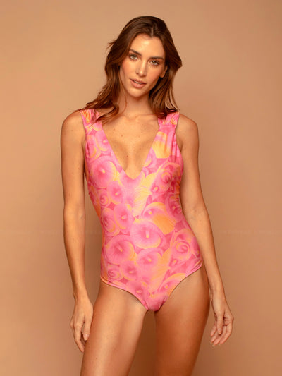 Encantadore: Musa One-Piece (1020M-PINK-1020F-PINK)