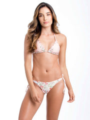Smeralda: Garden of Villa Sliding triangle-Garden of Villa Tie Side  Bikini  STW010-SBW010