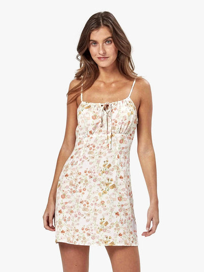 Charlie Holiday: Saint Mini Slip Dress (MEW6004-PAFL)