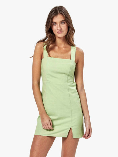 Charlie Holiday: Iva Mini Dress (MEW6006-PEAR)