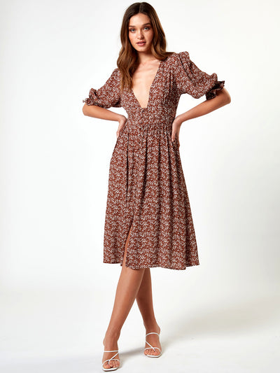 Charlie Holiday: Millie Dress (TUW6017-FLV)