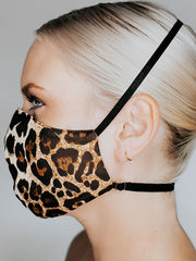 Katie May: Kitty May Face Mask (HWAG0288-LEOP)