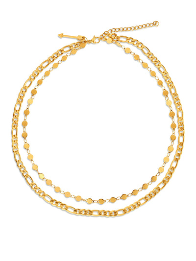 Ellie Vail: Jayce Double Chain Necklace (EVS20-JAYCE-NECK)