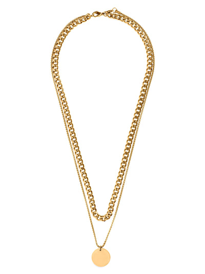 Ellie Vail: Blair Double Chain Necklace (EVS20-BLAIR-NECK)