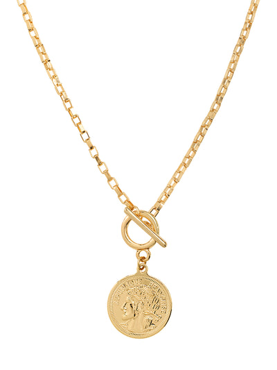 Shashi: Maverick Necklace (MAVERICKNECKLACE-GOLD)