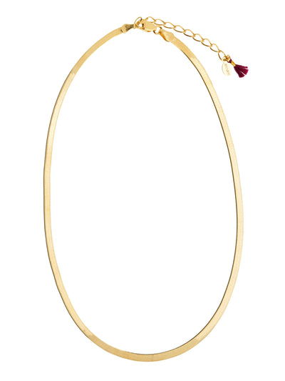 Shashi: Lady Necklace (LADYNECKLACE-GOLD)