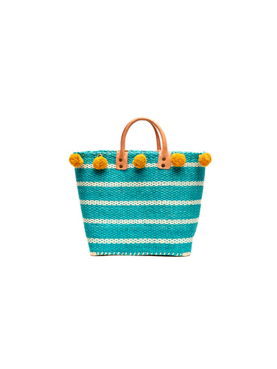 Mar Y Sol: Sola Tote Bag (8240-AQ)