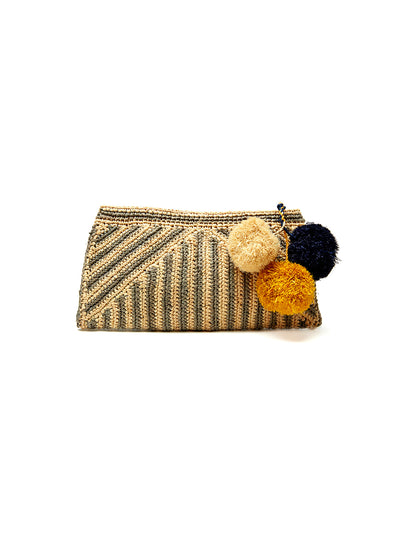 Mar Y Sol: Sonia Clutch Bag (7323-D)