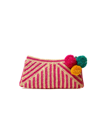 Mar Y Sol: Sonia Clutch Bag (7323-P)