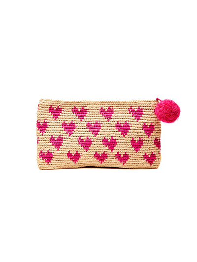 Mar Y Sol: Amelia Clutch Bag (8345-P)