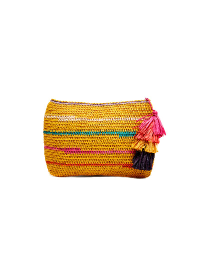 Mar Y Sol: Evie Clutch Bag (8326-S)