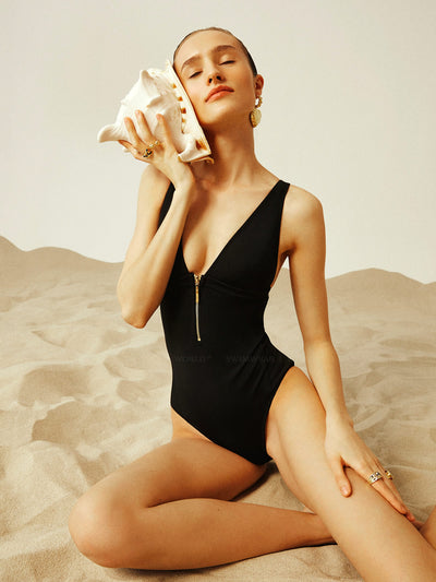 Anais and Margaux: Noelle One-Piece (A21NLEB-BLK)