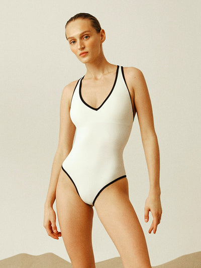 Anais and Margaux: Nicole One-Piece (A21NCLI-IVR)